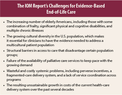 Evidence Based Practice Needed In End Of Life Care The Asco Post
