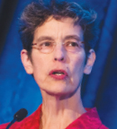 Margaret Edson delivers her Keynote Lecture: Wit, Hex, Vin, Life, Death: Using Wit as a Teaching Tool, at the 2016 Palliative Care in Oncology Symposium in San Francisco. Photo ©ASCO/Todd Buchanan 2016.