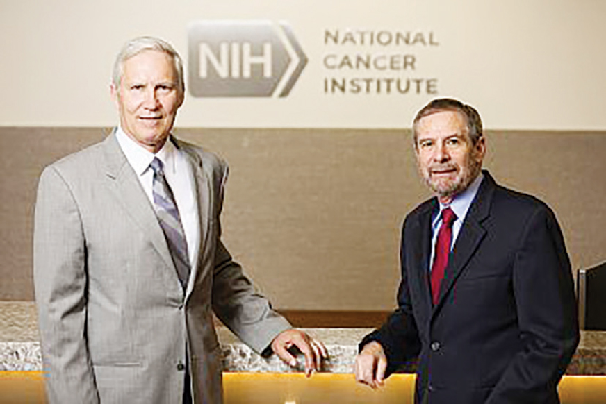 John T. Schiller, PhD (left), and Douglas R. Lowy, MD. Courtesy of the National Cancer Institute.