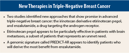 Breast cancer negative studies Triple