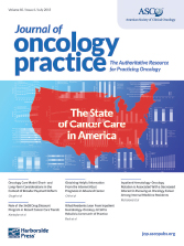 Journal of Oncology Practice to Expand in 2016: New Section