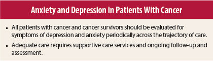 Comparative study of depression anxiety and stress among cancer patients